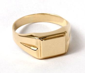 férfi arany gyűrű