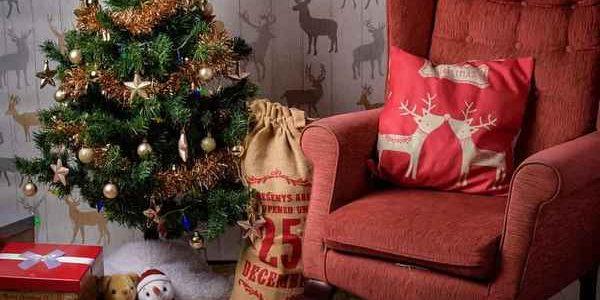 karácsonyi lakásdekoráció