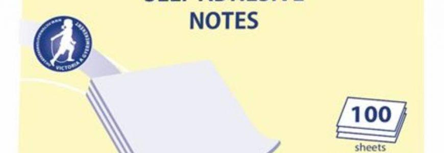 öntapadó jegyzettömb